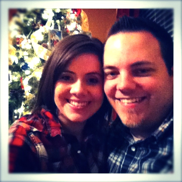 Rachel and Tim, Christmas 2011