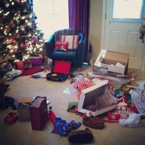 christmas aftermath