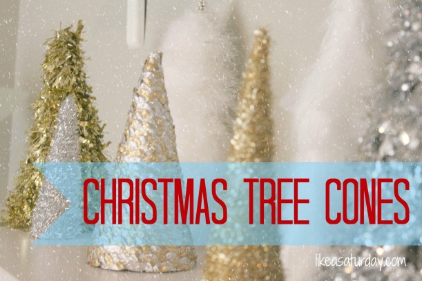 DIY Christmas Tree Cones