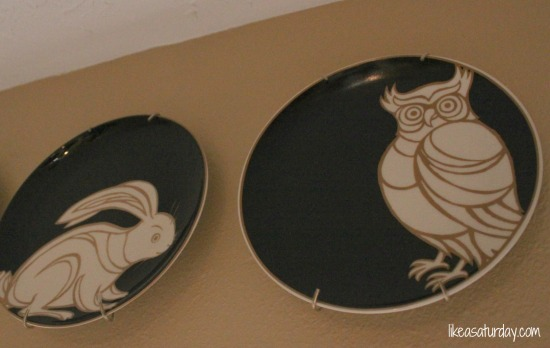Like a Saturday : Woodland Creature Hanging Plates