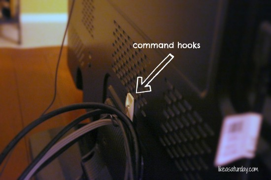 Like a Saturday : How to hide the TV wires