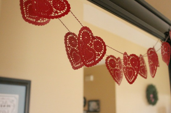 Like a Saturday : Easy Valentine Garland