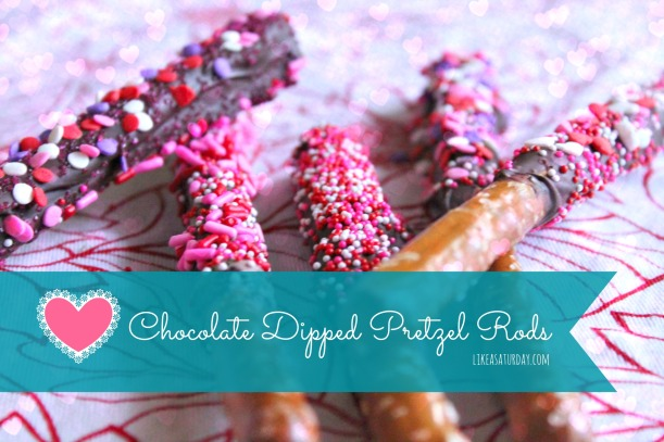 10 Awesome DIY Mother's Day Gift Ideas : Chocolate Dipped Pretzel Rods