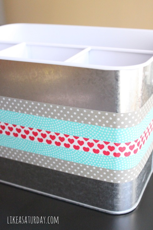 Craft Caddy : Fun with Washi Tape