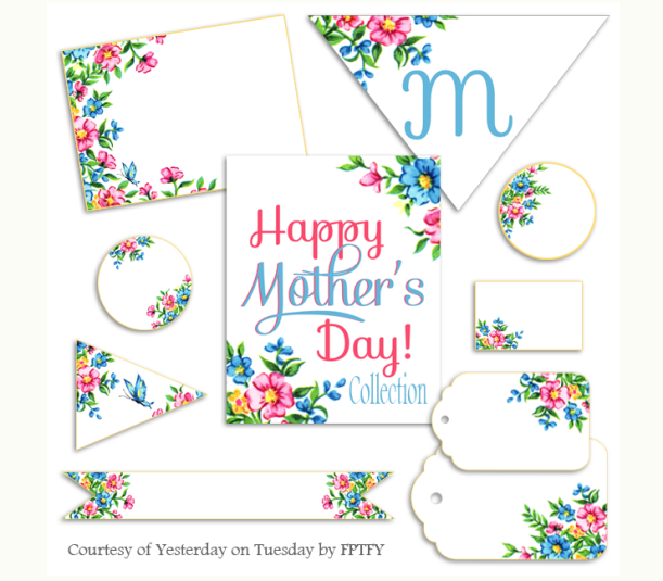 Mother's Day Printables @ Yesterday on Tuesday