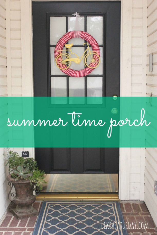 Summer Time Porch : Like a Saturday