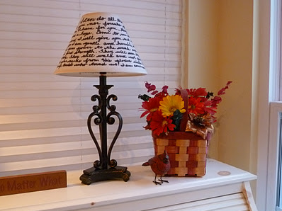 Handwritten Lampshade