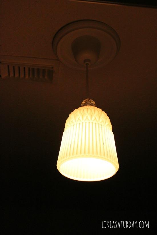 Ikea pendant light for $20