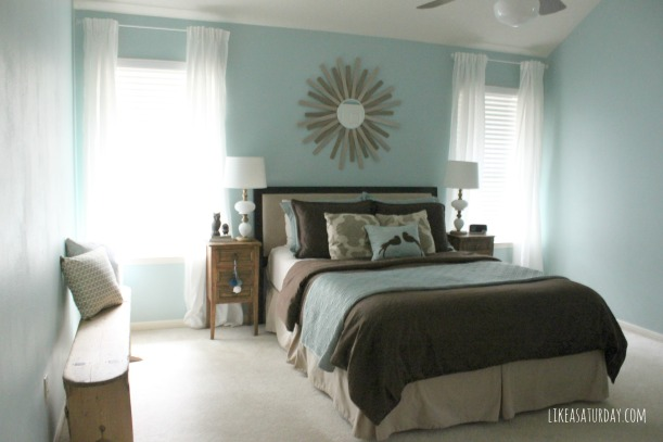 Master Bedroom curtains for only $32 total!